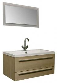 Мебель для ванной Aquanet Нота 100 Лайт светлый дуб