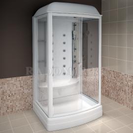 Душевая кабина Radomir Диана-1 118*108 с гидромассажем и баней