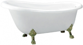 Акриловая ванна BelBagno BB04-BRN 170*80