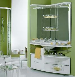 Мебель для ванной Акватон Корнер левая
