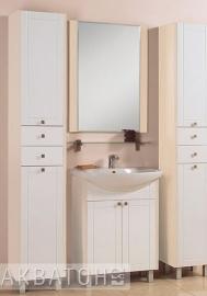 Мебель для ванной Акватон Альпина 65 дуб молочный