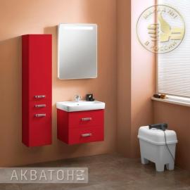 Мебель для ванной Акватон Америна 60 бордовая