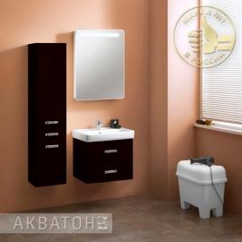 Мебель для ванной Акватон Америна 60 чёрная
