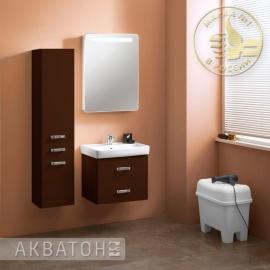 Мебель для ванной Акватон Америна 70 темно-коричневая
