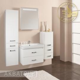 Мебель для ванной Акватон Америна 80 белая