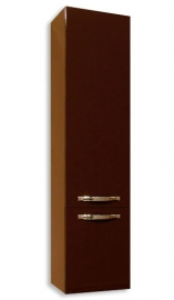 Шкаф-колонна Акватон Ария М темно-коричневый