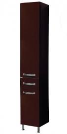 Шкаф-колонна Акватон Ария Н темно-коричневый