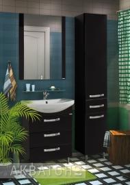 Мебель для ванной Акватон Ария Н 65 черная
