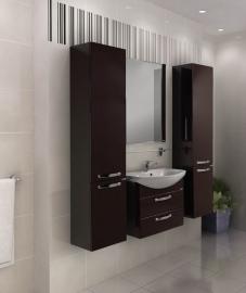 Мебель для ванной Акватон Ария М 65 темно-коричневая