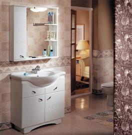 Мебель для ванной Акватон Аттика 85 левая