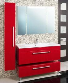 Мебель для ванной Акватон Мадрид 100 бордо с ящиком