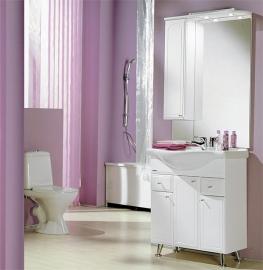 Мебель для ванной Акватон Майами 75 левая