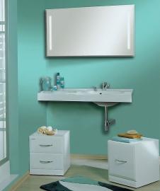 Мебель для ванной Акватон Отель 100 правая