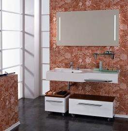 Мебель для ванной Акватон Отель 127 левая