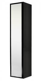 Шкаф-колонна Акватон Римини черный