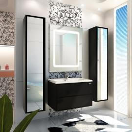 Мебель для ванной Акватон Римини 80 черная