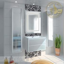 Мебель для ванной Акватон Римини 80 белая