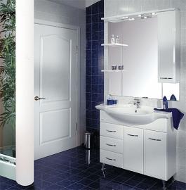 Мебель для ванной Акватон Эмили 105 правая