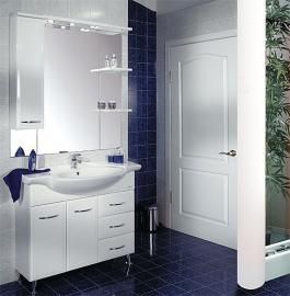 Мебель для ванной Акватон Эмили 105 левая