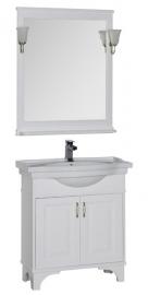 Мебель для ванной Aquanet Валенса 80 белая