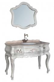 Мебель для ванной Demax Флоренция 120 белый перламутр