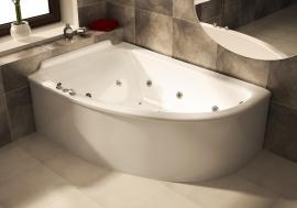 Ванна Astra-Form Анастасия левая
