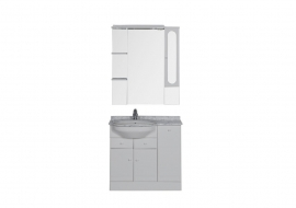 Мебель для ванной Aquanet Марсель 90 левая