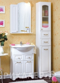 Мебель для ванной Bricklaer Анна 60 R/L белая
