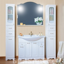 Мебель для ванной Bricklaer Анна 100 белая