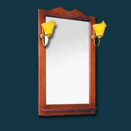 Зеркало Два водолея Clio 65 со светильниками