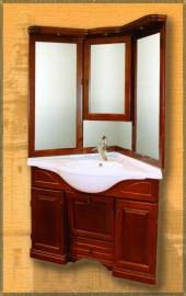 Мебель для ванной Два водолея Clio 85*85