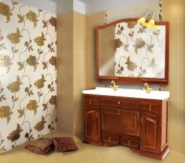 Мебель для ванной Два водолея Clio 140