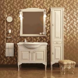 Мебель для ванной Два водолея Равелло 85 слоновая кость