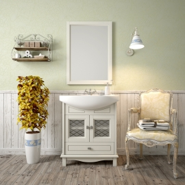 Мебель для ванной Opadiris Омега 65 слоновая кость