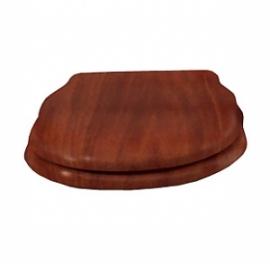 Крышка-сиденье деревянное Cezares Royal Palace микролифт хром