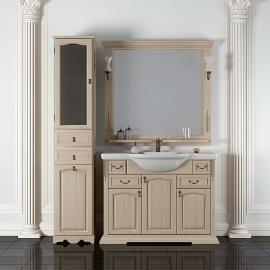 Мебель для ванной Opadiris Риспекто 100 слоновая кость