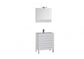 Мебель для ванной Aquanet Верона 75 напольная белая