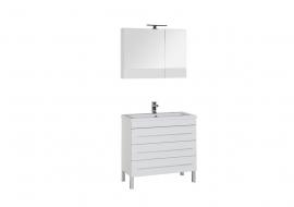 Мебель для ванной Aquanet Верона 90 напольная белая