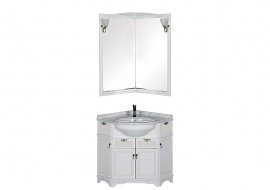 Мебель для ванной Aquanet Луис 70*70 угловой белый