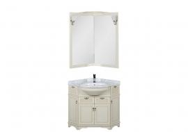 Мебель для ванной Aquanet Луис 70*70 угловой бежевый