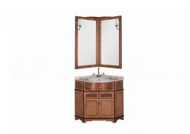 Мебель для ванной Aquanet Луис 70*70 угловой орех