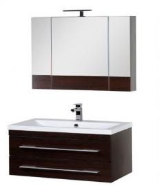 Мебель для ванной Aquanet Нота 100 Камерино венге