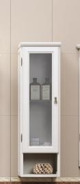 Шкаф подвесной Opadiris Клио 30 белый правый