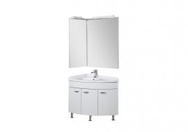 Мебель для ванной Aquanet Корнер 89 закрытый левый