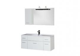 Мебель для ванной Aquanet Данте 110 шкафчик слева
