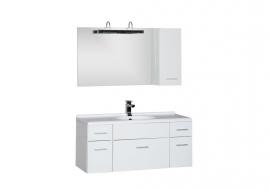 Мебель для ванной Aquanet Данте 110 шкафчик справа