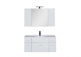 Мебель для ванной Aquanet Данте 110 камерино два шкафчика