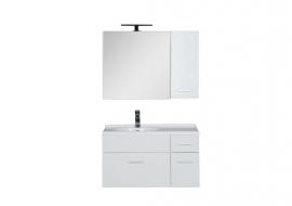 Мебель для ванной Aquanet Данте 85 камерино шкаф левая