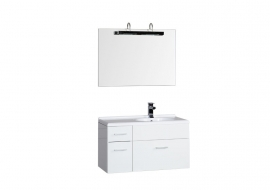 Мебель для ванной Aquanet Данте 85 правая