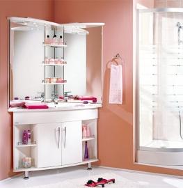 Мебель для ванной Акватон Лас-Вегас правая